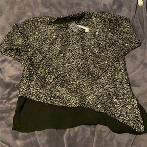 NWT Apt 9 Layered sweater